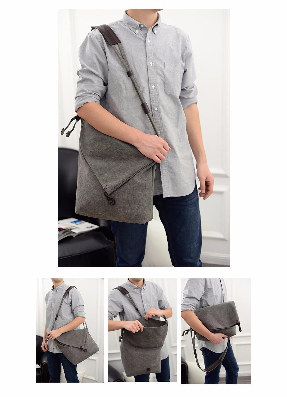 Vintage Canvas Shoulder Bag European And American Style Casual Unisex Handbag Men Women Retro Large Capacity Messenger Bags TTOU (7)