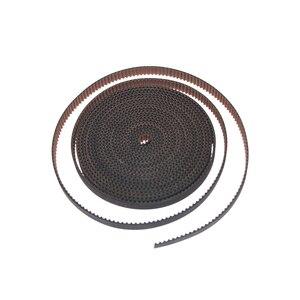 10 м/лот полиуретан со стальным сердечником GT2 Ремень черного цвета 2GT Ремень ГРМ 6 мм 10 мм ширина 10 м Упаковка для 3d принтера Бесплатная доставка