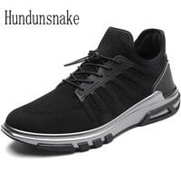 Hundunsnake Adult Male Sport Shoes Men Sneakers Black Running Shoes For Men Krasovki 2017 Athletic Shoe