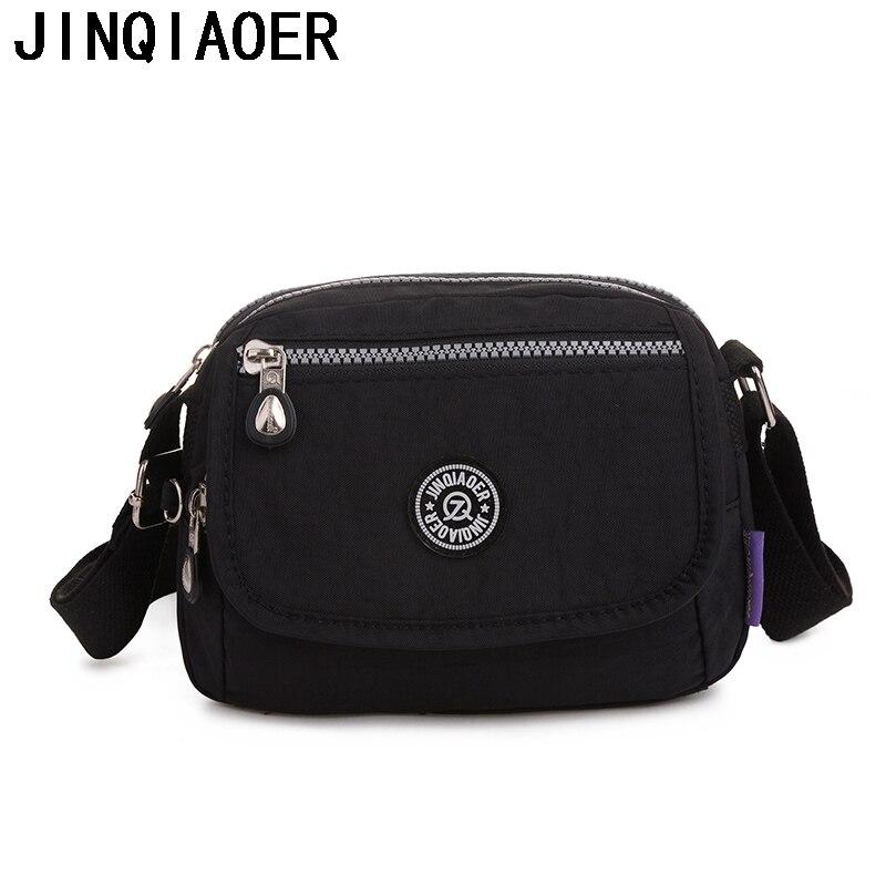Mini Womens Shoulder Bag Casual Crossbody Bag Nylon Waterproof Women Bolsa Messenger Bag Female Travel Tote Handbags