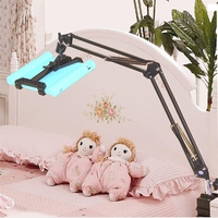 HOT SALE Universal Extend Retract Stands Table Bracket Bed Tablet Mount Metal Holder For 7 10