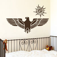 Wall Decals Eagle Bird Predator Decal Nursery Boy Room Vinyl Sticker Decor