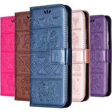 Hight Quality Flip Phone Case For Sony Xperia 10 X XA L1 E6 C6 XZ XZ1 XZ3 XA3 Z3 Coque Embossing Single Retro Color Cover D02G case for sony xperia l1 x xa ultra case wallet leather cover for sony xperia xz xr xz1 xz premium compact business style case