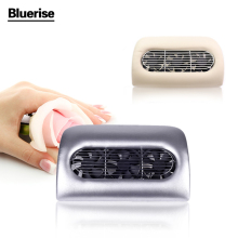 Bluerise Nail Vacuum Cleaner Beauty Salon Equipment Collector Suction Nail Dust Manicure Machine Cleaning Drill Dirt UV Nail Gel