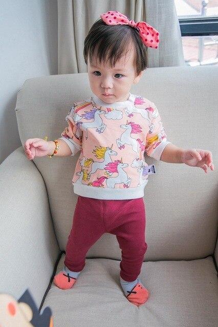 2017 весной и осенью ins горяч-продавая детская единорог толстовки ребенок мальчик одежда детская девочка одежды дети толстовки модный бренд
