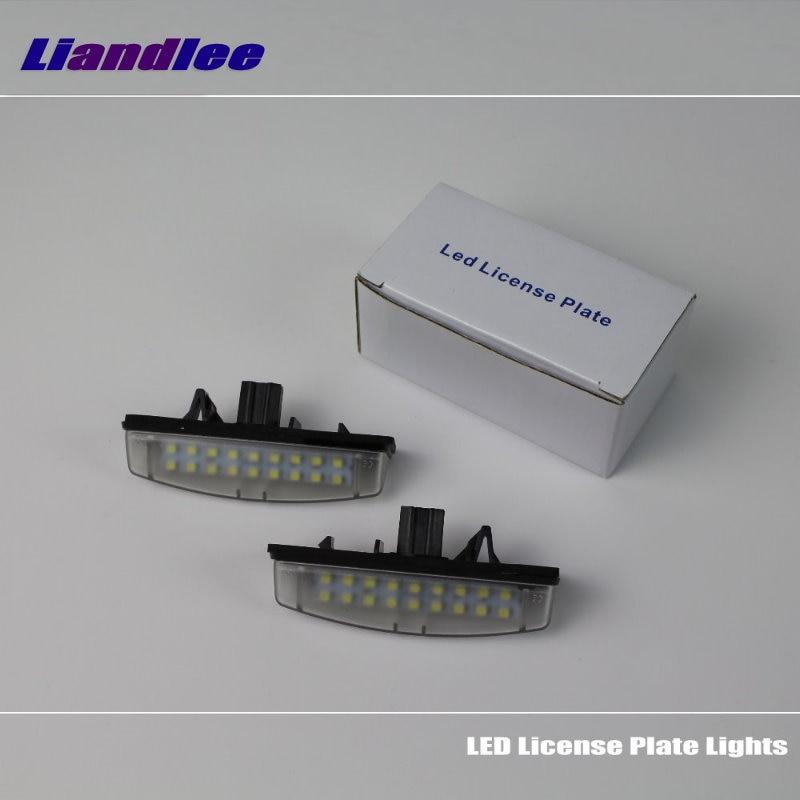 Liandlee для Тойота Авенсис Версо 2001~2009 / LED автомобилей свет номерного знака / количество кадров лампы / высокое качество светодиодные фонари