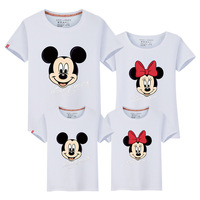 2017 New Pattern Parenting Summer Wear Home Three Mouth Mother And Daughter Mother And Son The