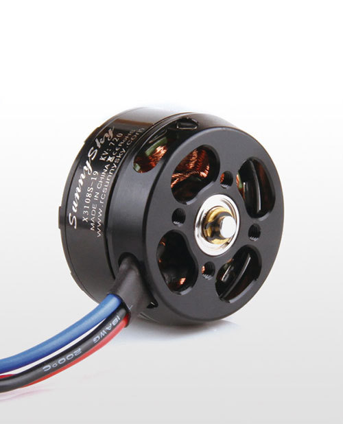 Free shipping SUNNYSKY X3108S 720KV 900KV 325W 22A/30S 1kg Brushless Motor Efficient Shaft Disk Motor for Multi-rotor copter