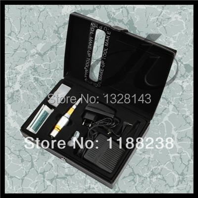 High Quality Permanent Makeup Digital Machine Kit Profesional Tattoo Eyebrow Pen 3 colors for tattoo Artist supply Free Shipping