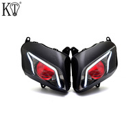 KT LED Headlight for Honda CBR600RR 2007 2012 V3