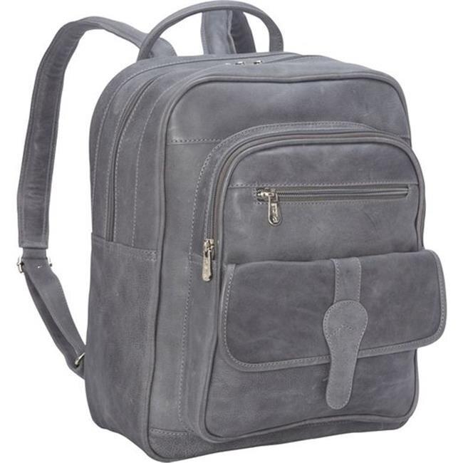 Piel Leather 3060 - CHAR Medium Buckle Flap Backpack - Charcoal tnpn% and select char 67 char 88 char 120 char 86 char 67 char 88 char 120 char 86 and %