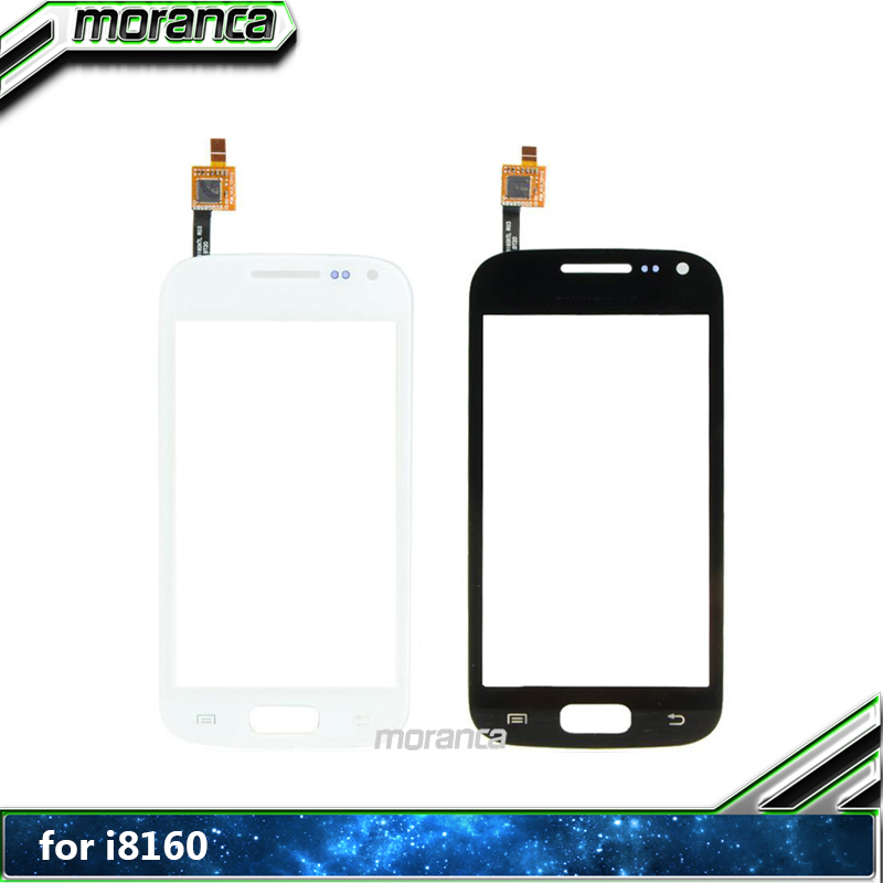 Touchscreen for Samsung Galaxy Ace 2 GT-i8160 i8160 Touch Screen Digitizer  Front Glass Screen Panel Lens Replacement Parts