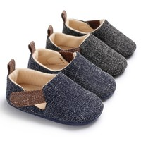 Baby Shoes Newborn Casual Baby Boy Shoes Spring Classic Cotton First Walker Beach Shoes For Boy Prewalker Baby's First Walkers