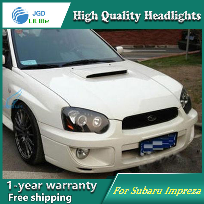 Auto Clud Style LED Head Lamp for Subaru Impreza 2004-2006 led headlights signal led drl hid Bi-Xenon Lens low beam auto clud style led head lamp for nissan teana 2013 2016 led headlights signal led drl hid bi xenon lens low beam