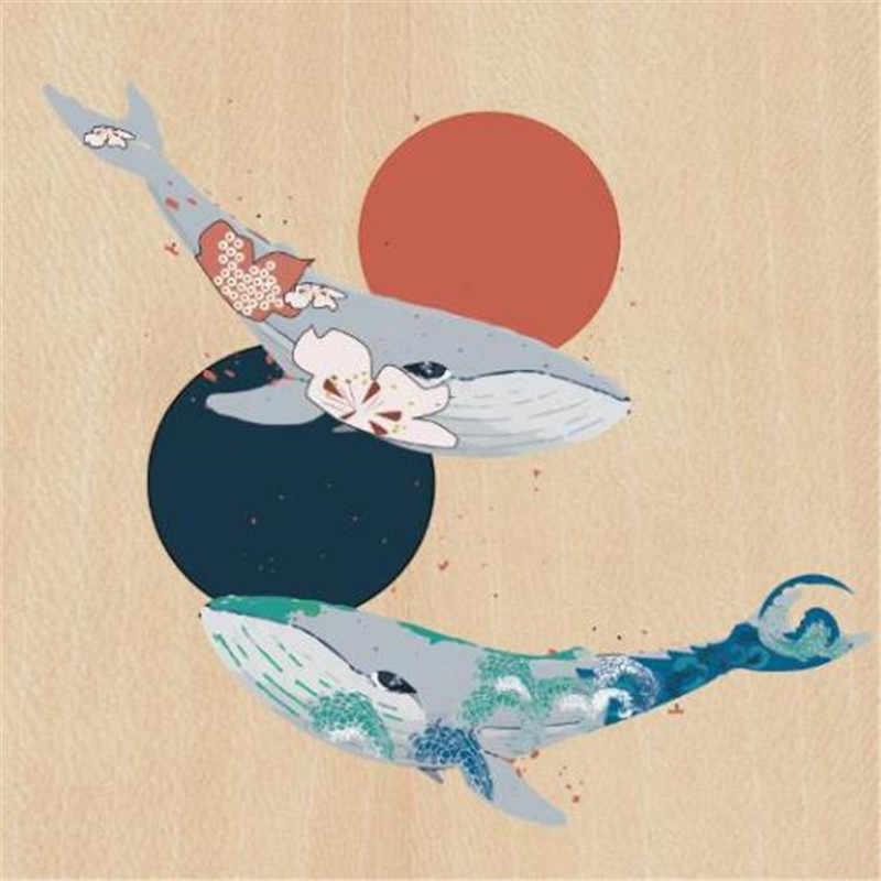 Sonne Fisch PVC Patch deal mit es Kleidung Wärme Transfer Druck Diy T shirt mädchen eisen auf patches für kleidung frauen Aufkleber