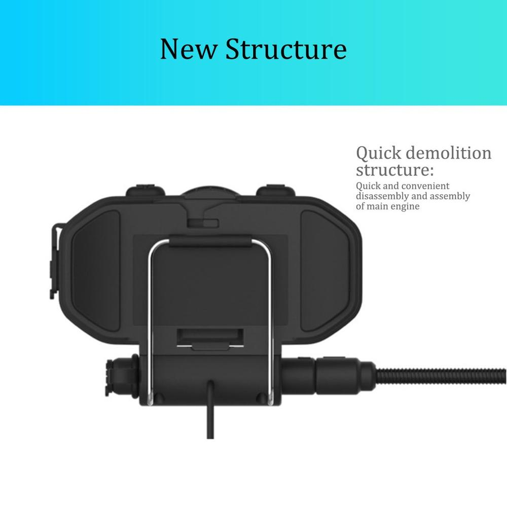 Easy Rider V8 Headset Helmet Motorcycle Stereo Headphones For Mobile Phone