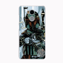 Star Wars R2D2 Darth Vader Stormtrooper Boba Fett Phone Case for Xiaomi redmi 4 1 1s 2 3 3s  pro redmi note 4