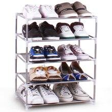 Shoe multilayer nonwoven dust simple shoe rack combination of low reinforced racks