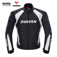 Moto Brand DUHAN Motorcycle Windproof Riding Sport Jacket Clothing Motocross Off Road Racing Protection Coat For