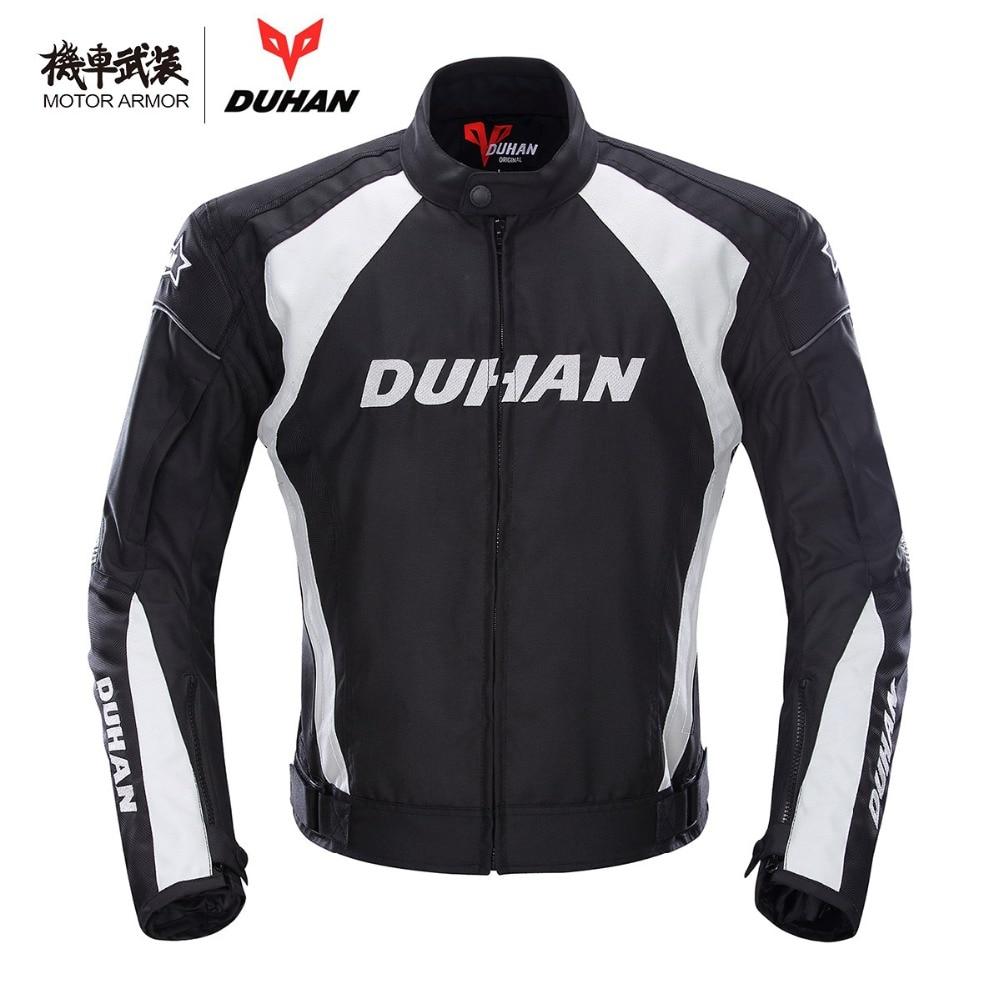 Moto DUHAN Motorcycle Men's Waterproof Riding Sport Oxford Jacket Clothing Motocross OffRoad Racing Protection Coat Winter M-2XL