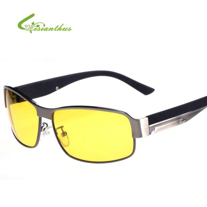 2018 Yellow Polarized Sunglasses Men Women Brand Designer Night Vision Goggles Driving Glasses Driver Polaroid Sun Glasses UV400
