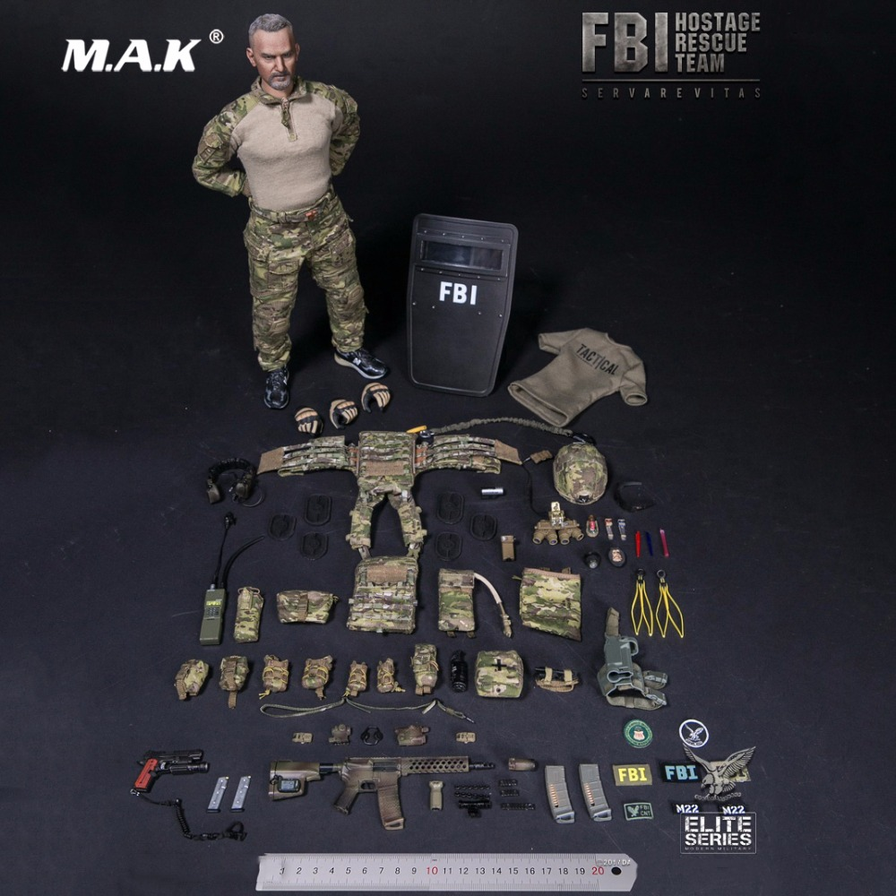For collection 1:6 Scale 1/6 FBI HRT AGENT ( HOSTAGE RESCUE TEAM ) Figure Model 78042 w Accessoriess Colletible Model Toy Gift военные игрушки для детей did y26 36 ss067 fbi hrt
