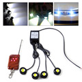 4in1 12V Eagle Eye Hawkeye LED Strobe Lights Lamp DRL Wireless Remote Control For VW Polo Audi A4 Nissan Almera Toyota RAV4