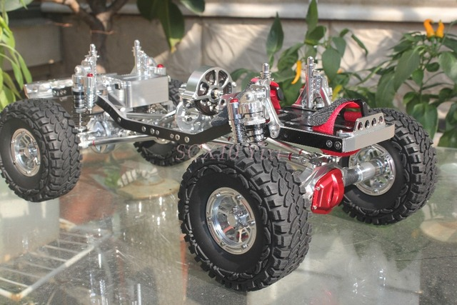 High End Fully Cnc Metal Scx10 Rock Crawler 1 10 Rc Scale