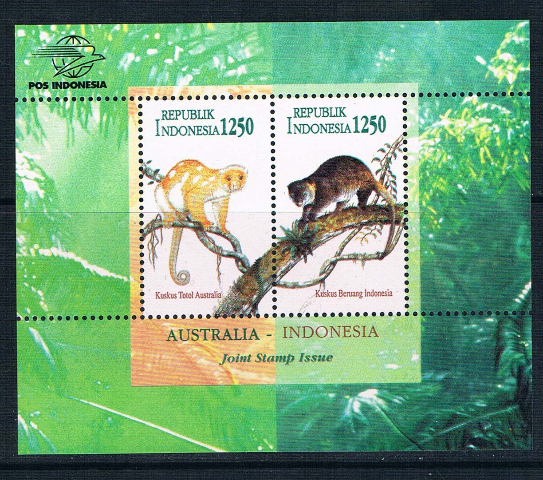 EA0638 Indonesia 1996 and Australia's monkey 1MS new 0505 ea ac87