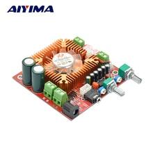 Aiyima Subwoofer Amplificateur TDA7379 2.1 Canal Audio Amplificateur Conseil 13Wx2 + 38 W Basse DC12-18V
