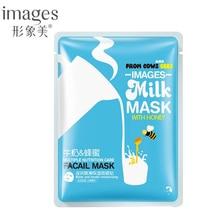 images 1Pcs Milk and Honey Hydrating Moisturizing Mild Repair Facial Skin oil control Sheet Mask For Face Brightening Nourishing
