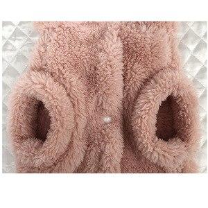 Image 5 - חמוד כלב הסווטשרט חורף לחיות מחמד עבור כלבי מעיל מעיל כותנה Ropa Perro צרפתית בולדוג בגדים לכלבים חיות מחמד בגדי פאג