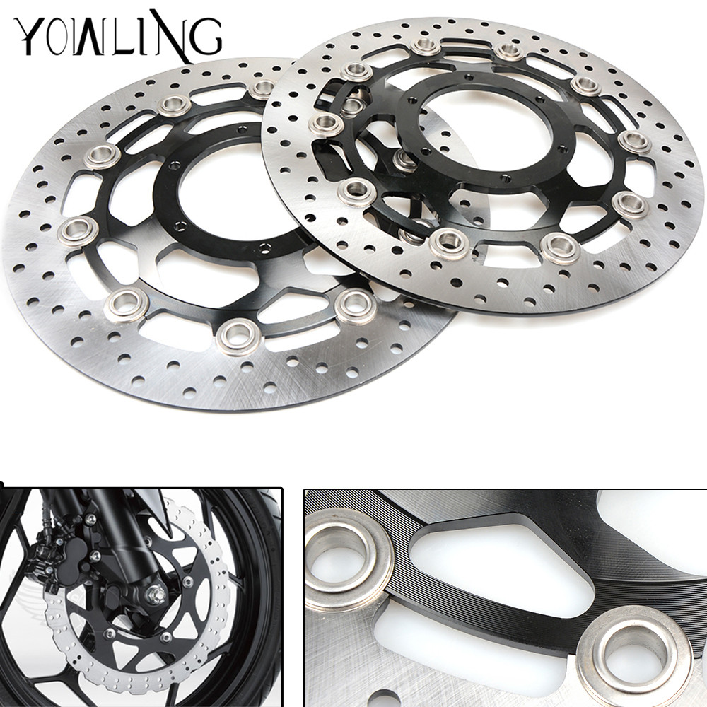 Motorcycle Front Floating Brake Discs Rotors for Honda CBR600RR 2003 2004 2005 2006 2007 2008 2009 2010 2011 2012 2013 2014