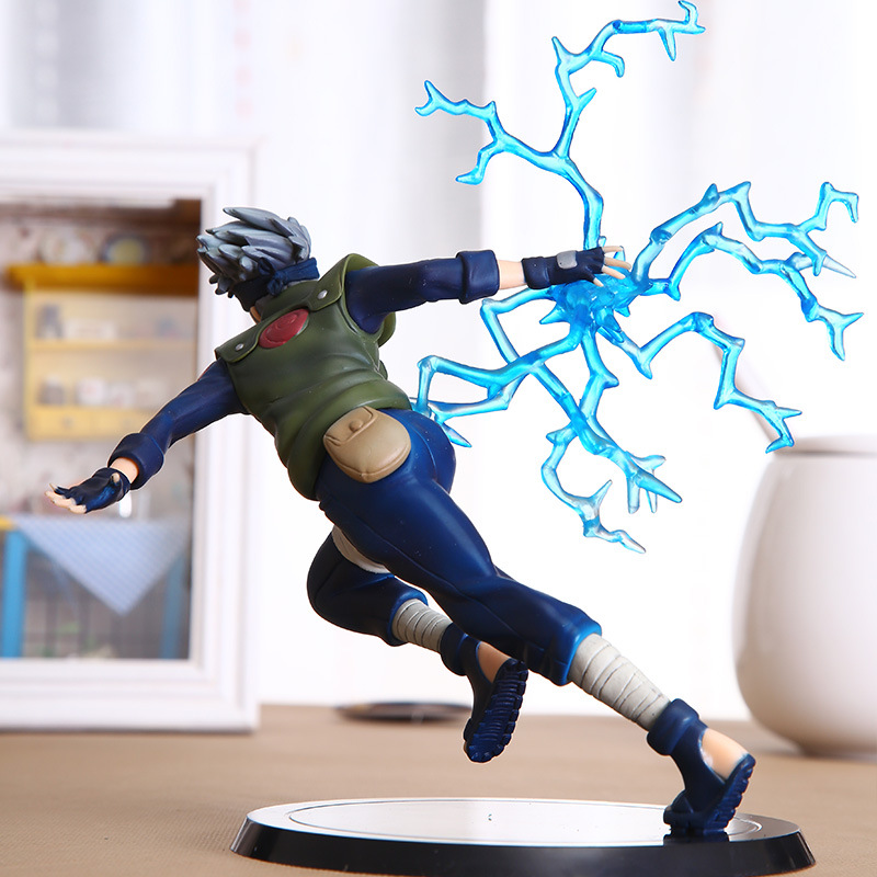 Cool Naruto speelgoed Kakashi Sasuke Action Figure speelgoed Anime - Speelfiguren - Foto 3