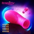Top Face Partículas dedeiras flertar G spot vagina clitóris estimulador massagem sutiã erótico adulto produtos do sexo brinquedos para mulher