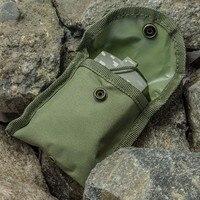 водонепроницаемый серебристые тип военная униформа применение армии открытый путешествия геологии карманный радужный компасы с мешком новое поступление