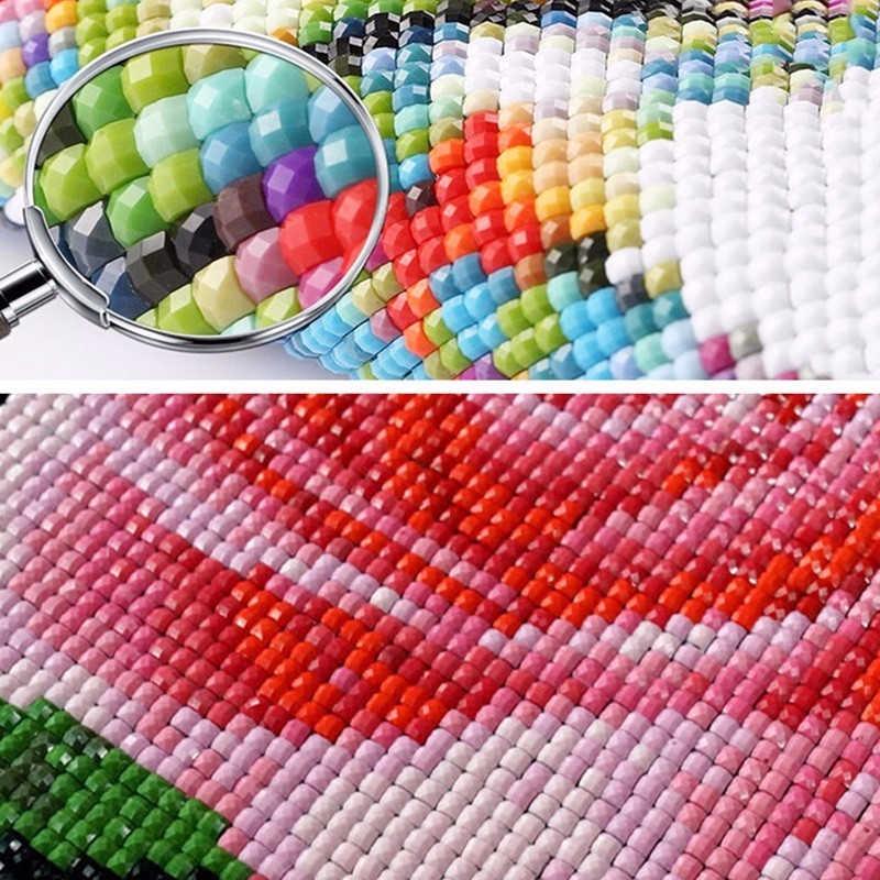 Fai da te 5D di Diamante Del Ricamo Del Gatto Del Fumetto 5D Diamante Mosaico di trasporto libero di Vendita Animale 5D Pittura Diamante pieno trapano piazza Kit best Regalo per i Bambini