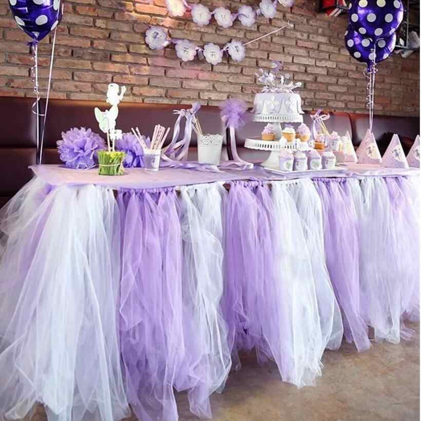 22 M Kleurrijke Shiny Crystal Tulle Roll Organza Sheer Gaas DIY meisjes Tutu Rok Gift Wedding Party Decor Baby Douche Decor Supply