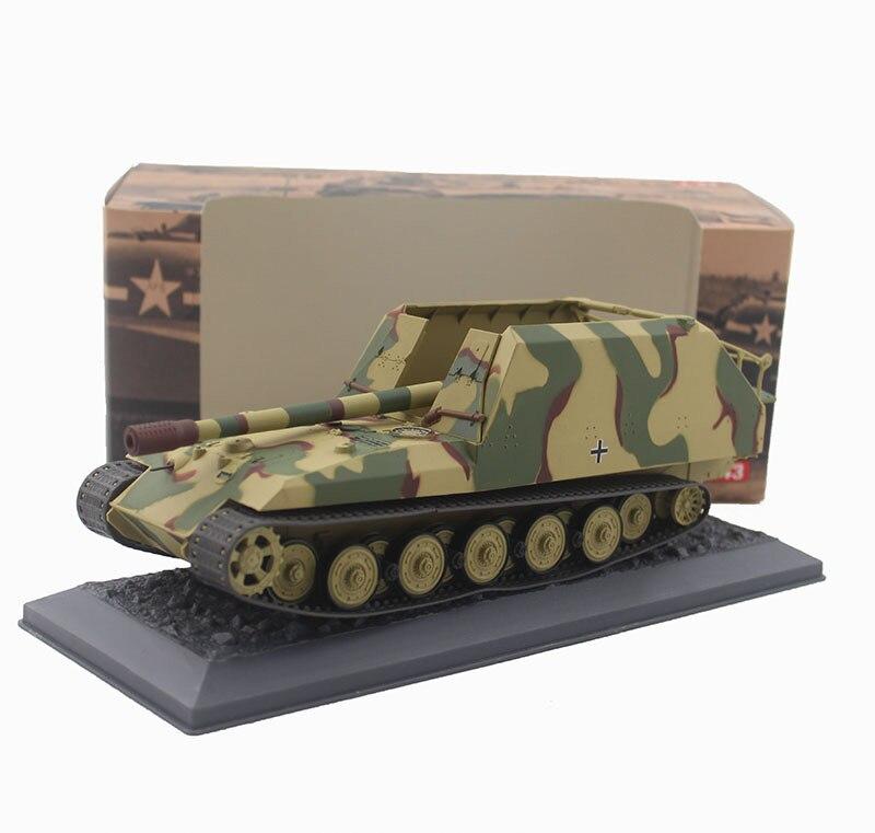Oyuncaklar ve Hobi Ürünleri'ten Pres Döküm ve Oyuncak Araçlar'de Nadir Özel Teklif 1:43 1945 Alman Ordusu Tankı modeli Kaplan kürk 17cm K72 Alaşım bitmiş ürünler Koleksiyon model'da  Grup 1