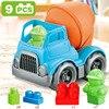 Baby speelgoed auto kinderen strand speelgoed auto zand strand speelgoed bouw voertuig techniek auto baggeren schop play zand tool 4