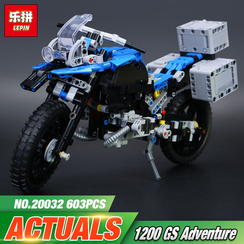 New 2017 Lepin 20032 Technic Series The BAMW Off-road Motorcycles R1200 GS Building Blocks Bricks Educational Toys  42063 ювелирное изделие 01c614076