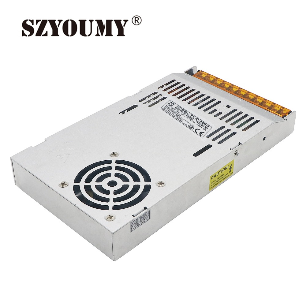 SZYOUMY Best quality Ultra Thin 5V 80A 400W Switching Power Supply Driver For LED Strip AC
