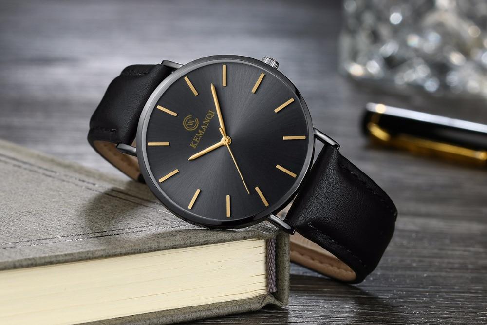 HTB1znZYXN2rK1RkSnhJq6ykdpXaT Relogio Masculino Mens Watches Top Brand Luxury Ultra-thin Watch Men Watch Men's Watch Clock erkek kol saati reloj hombre
