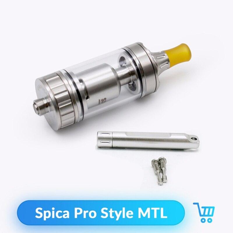 Volcanee Coppervape MTL RTA atomiseur Spica Pro Style réservoir 3 ml capacité 22mm pour E cigarette boîte Mod Vape atomiseur reconstructible