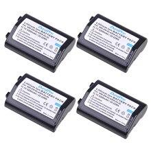 Batterie Akku Rechargeable pour appareil photo Nikon, 3200mAh, 4 pièces, pour modèles D2H, D2Hs, D2X, D2Xs, D3, D3S, F6