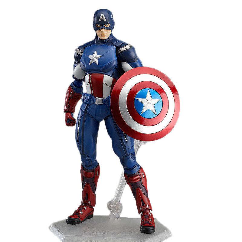 Marvel Christmas.Us 12 58 10 Off Disney Marvel Avengers Captain America Action Figure Pvc Christmas Birthday Present Collectible Model Toys For Boys A26 In Action