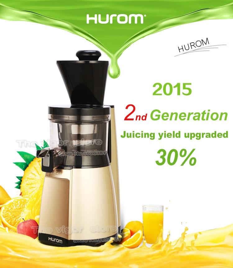 HUROM HU 19SGM Slow Juicer Extractor Vegetable Fruit Made in Korea 100 Original