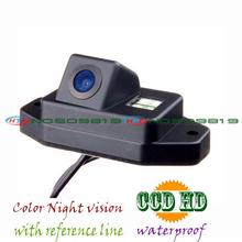 Cable wireless cámara de visión trasera de copia de seguridad de la cámara para sony ccd HD Toyota Land Cruiser 120 Series Toyota Prado 2700 4000
