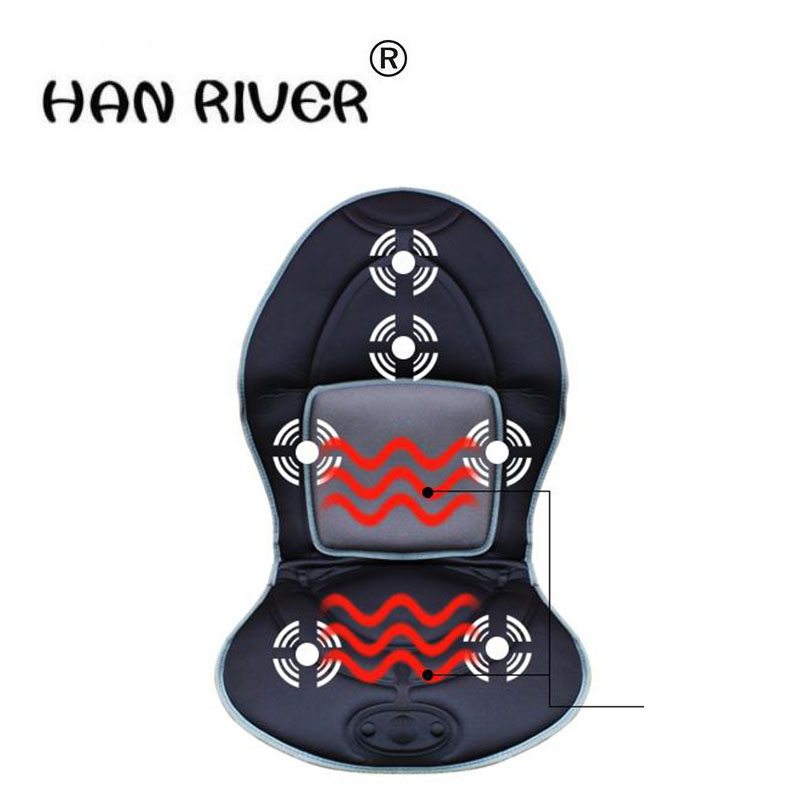 The new comfortable massage instrument car winter heating electrical heating massager massage cushion стоимость