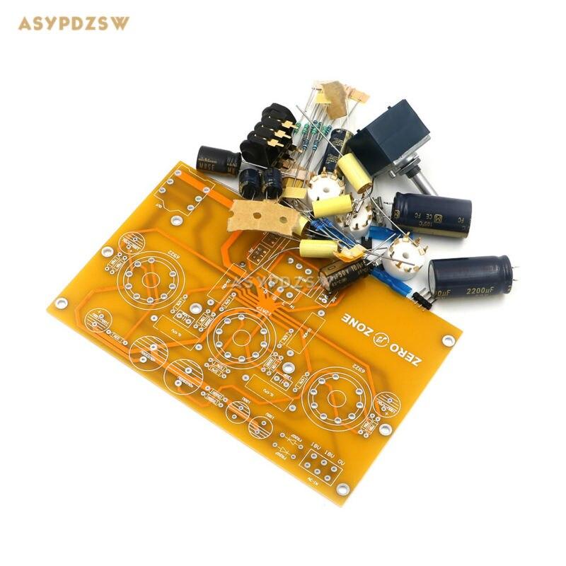 TU1-EMP V2 6922+12AT7 Tube headphone power amplifier DIY Kit (Note no tubes) note udom no 12 bangkok